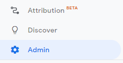 Image of Admin Dashboard button